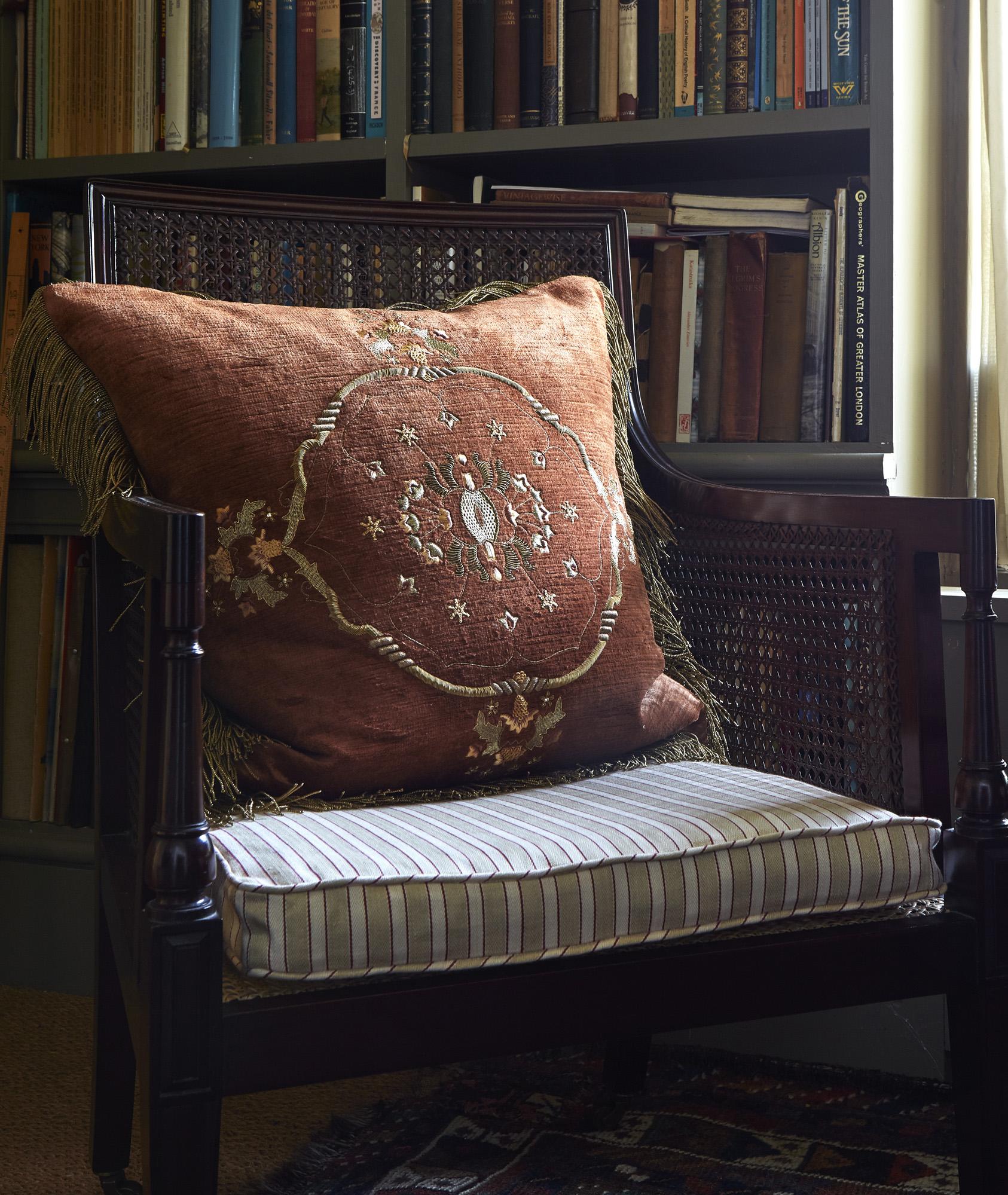 Palestrina London - Carcassonne cushion