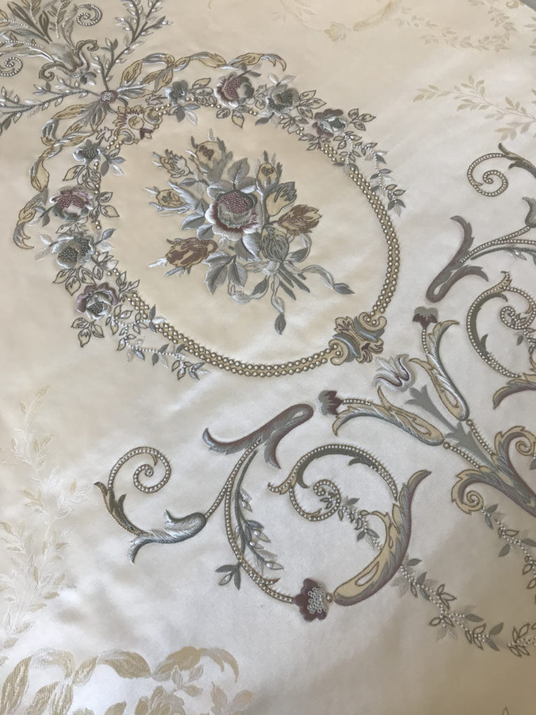 Palestrina London hand embroidery - Grand Trianon