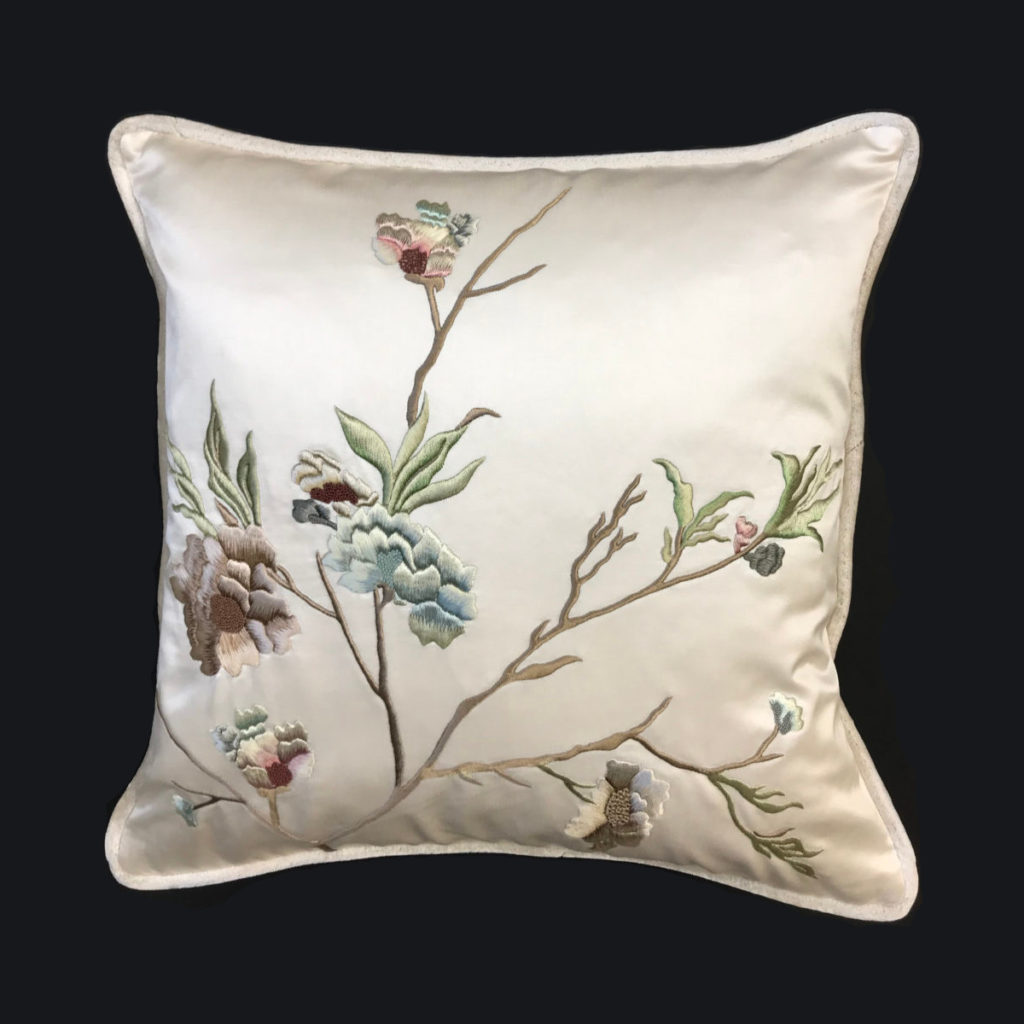 Palestrina London - Chinese Blossom cushion